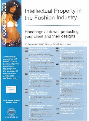 Intellectual Property In The Fashion Industry Conference