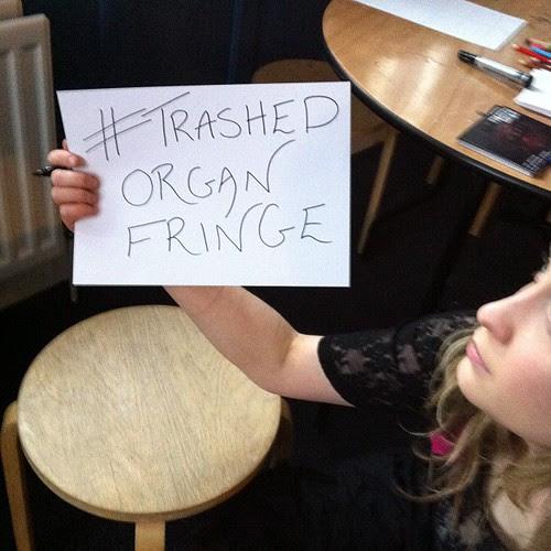 #trashedorganfringe