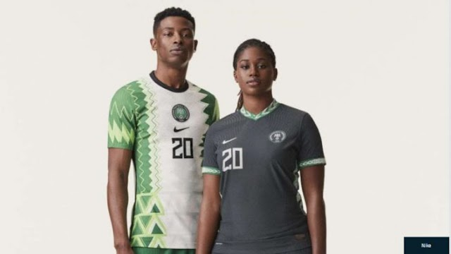 Nike Unveils New Nigeria Jersey (See Photos)