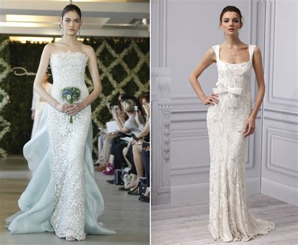 sheath wedding dresses 2013 bridal monique lhuillier oscar