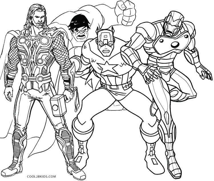 Superhero Marvel Coloring Pages For Adults - Coloring And Drawing
