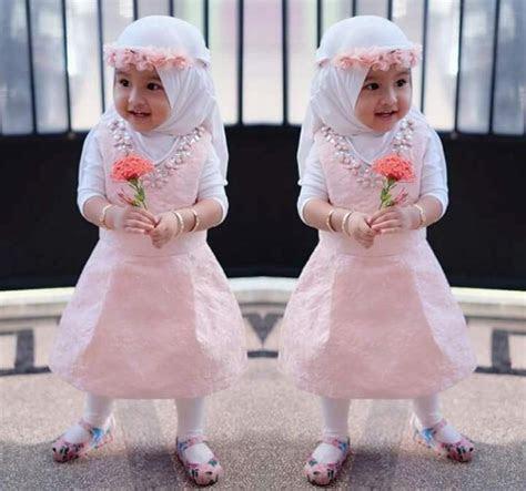 kumpulan foto busana muslim anak balita perempuan terbaru
