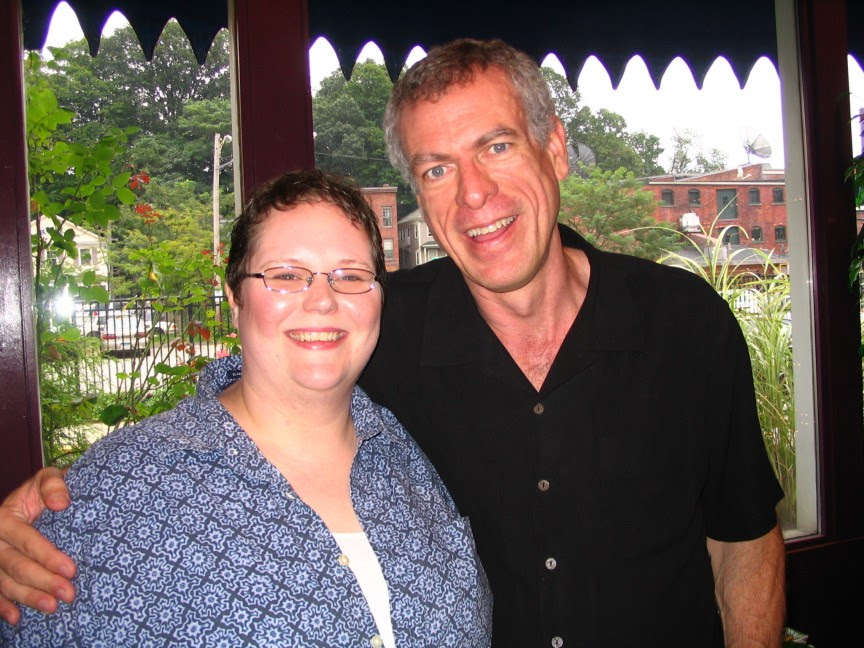 Steve Schalchlin with Lesli Hudson