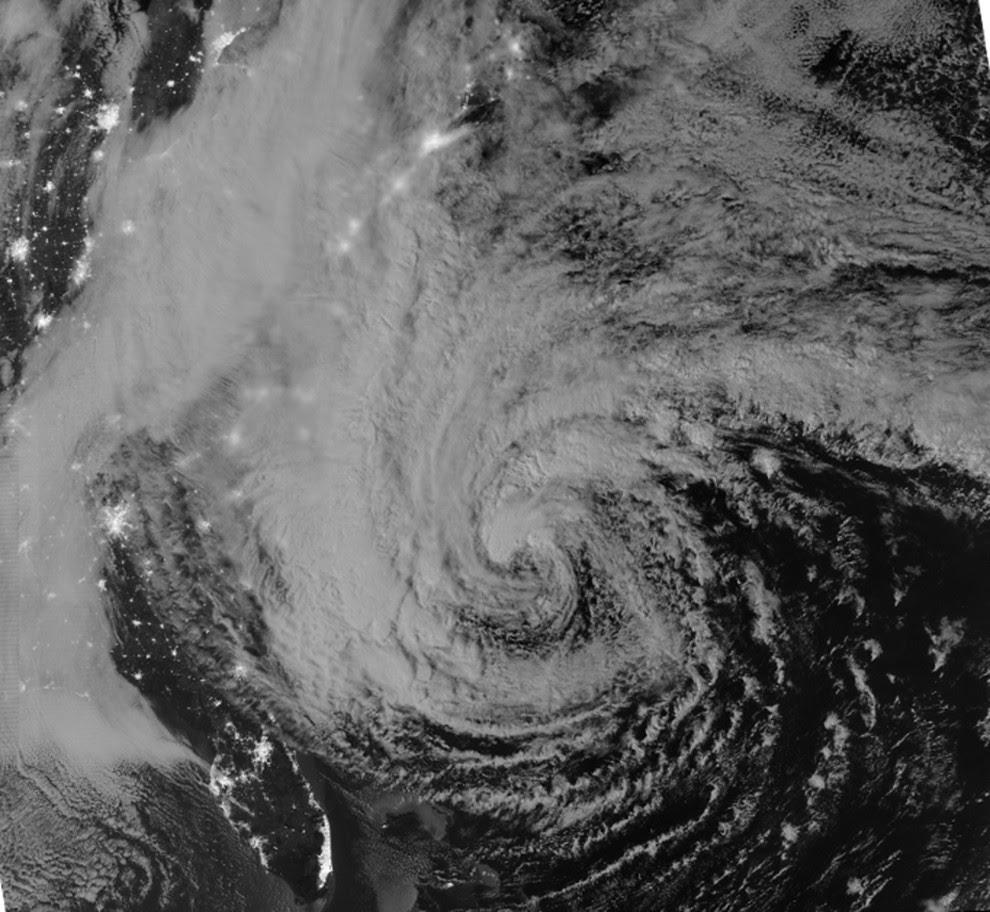 foto aerea huracan sandy