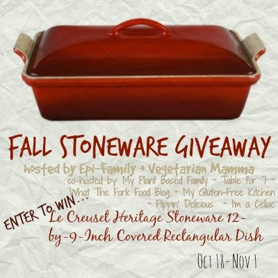 Fall Stoneware Giveaway Vegetarianmamma.com