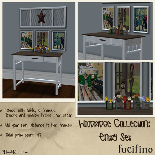 fucifino.woodridge collection: entry set for SBS