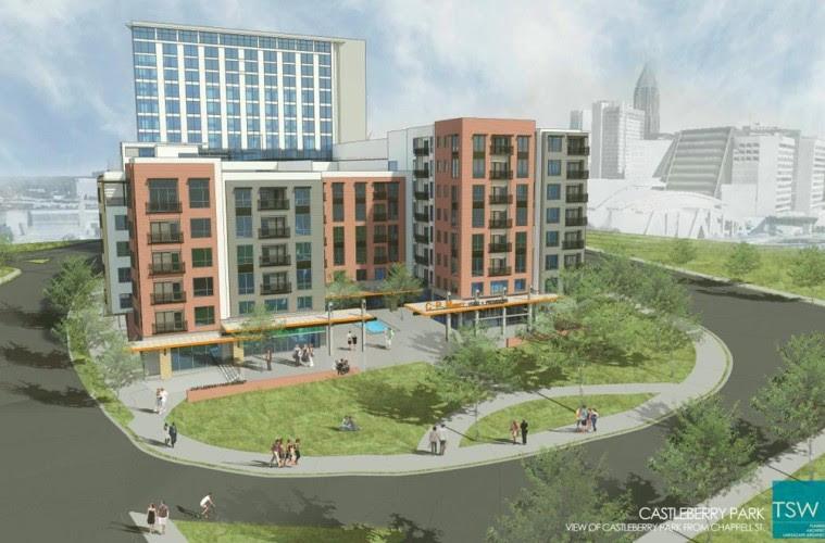 Hard Rock Hotel planned near the Mercedes-Benz Stadium ...