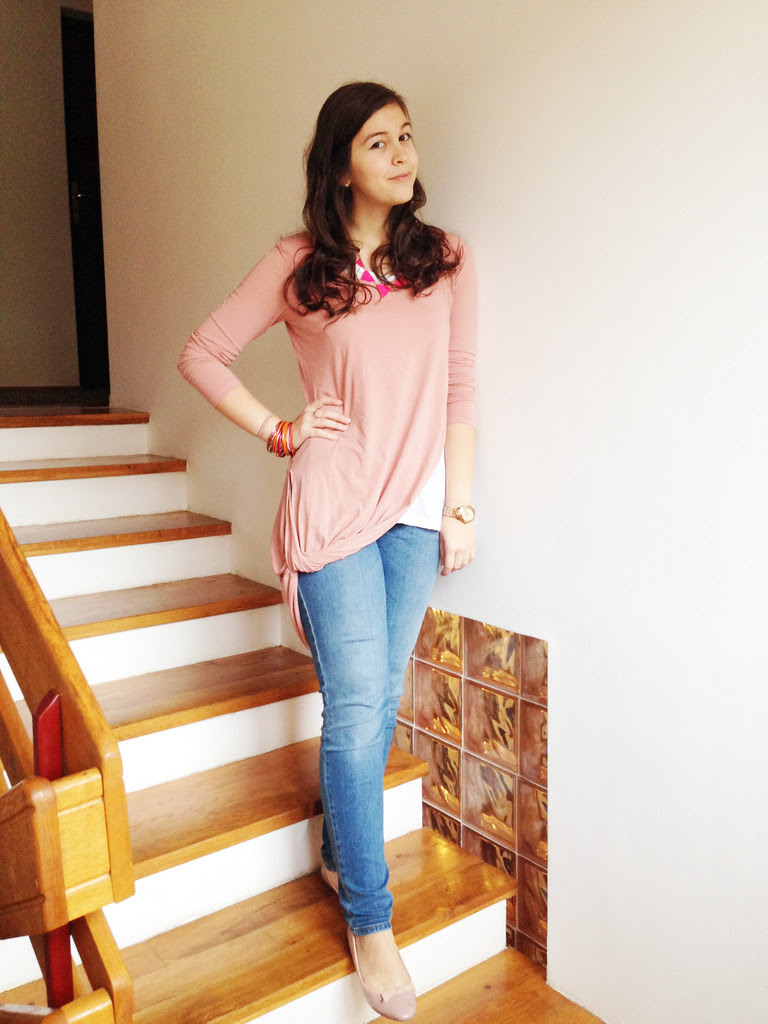 Blush pink outfit Mary Manaila 3