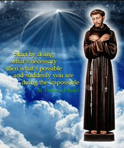 A Message From Saint Fancis! Free St. Francis Day eCards