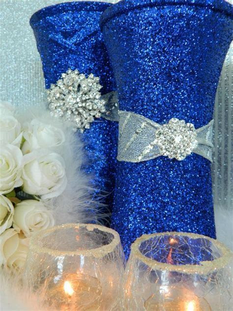 Wedding Decorations, Silver, Wedding Centerpieces