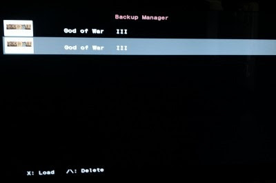 Back-Up-Manager-Menu
