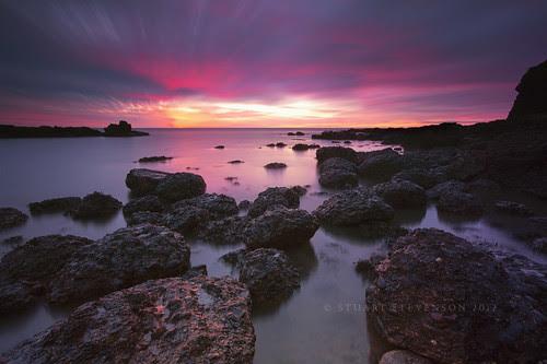 A colourful morning. by Stuart Stevenson