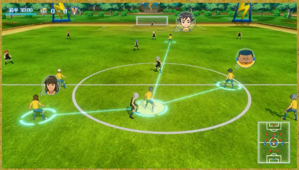 Inazuma Eleven: Ares is Switch, Smartphone and PS4 bound in 2018 screenshot