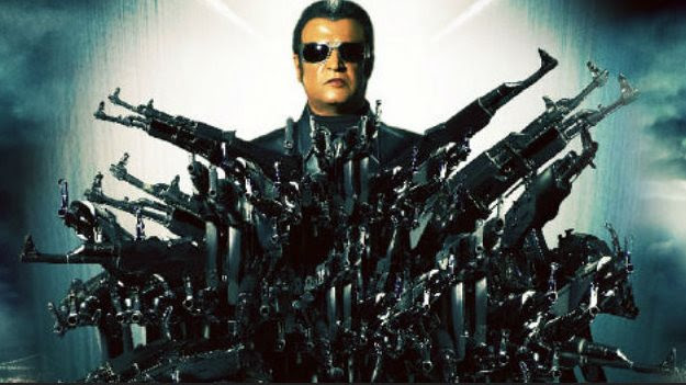 Superstar Rajinikanth at Los Angeles for 'Enthiran 2′