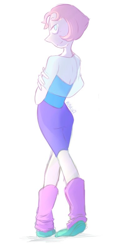so Pearl is not my favorite BUT love Salty Pearl :3 and @furgemancs love her sooo … CONGRATS WINNING THE PRINT BAE! a little gift beside the prise