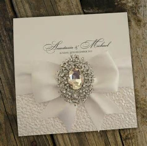 25  best ideas about Bling Wedding Invitations on