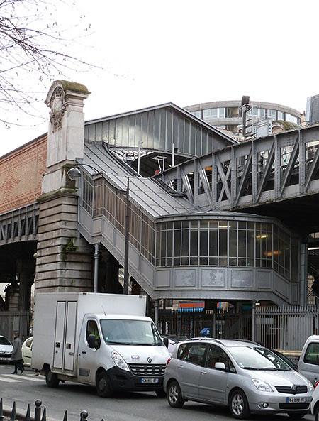 escaliers du métro