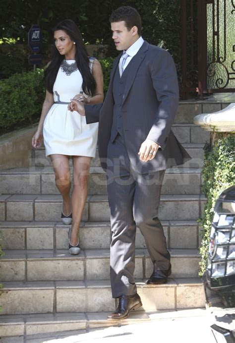 Kim Kardashian and Kris Humphries Leaving LA House
