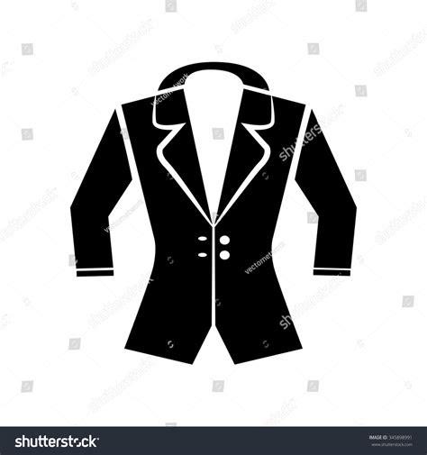 jacket icon vector art eps image stock vector