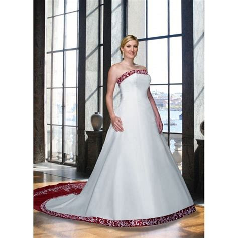 Red and white wedding dresses under 200   Modern Fashion
