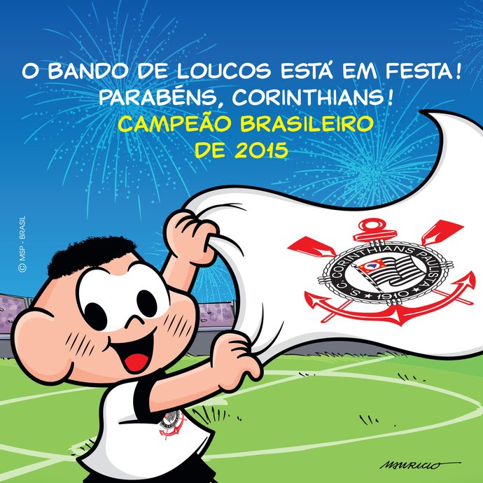 Corinthians Cascão Título (Foto: Maurício de Souza )