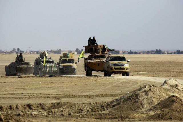 Depuis près de deux mois, Al-Bab est dans... (AFP)