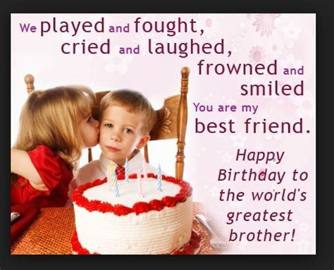 Top 55 Happy Birthday Messages for Brother from Sister