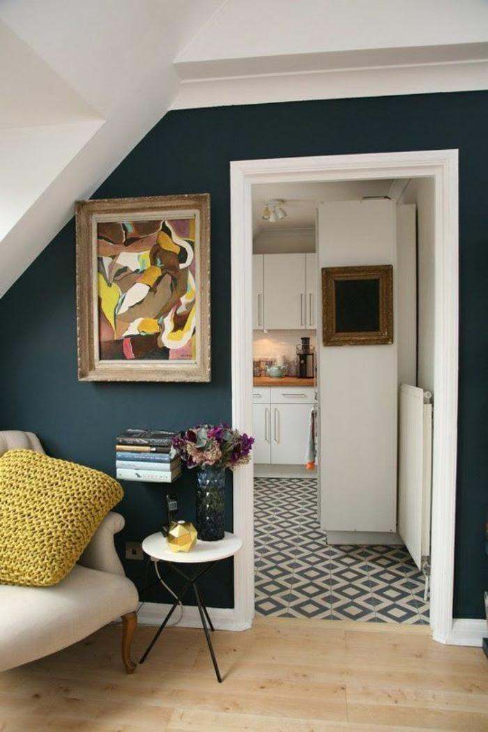 Dachschräge Farbe   Kleines Schlafzimmer Einrichten: 80 ...
