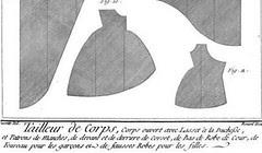 Tailleur Diderot fourreau 1776