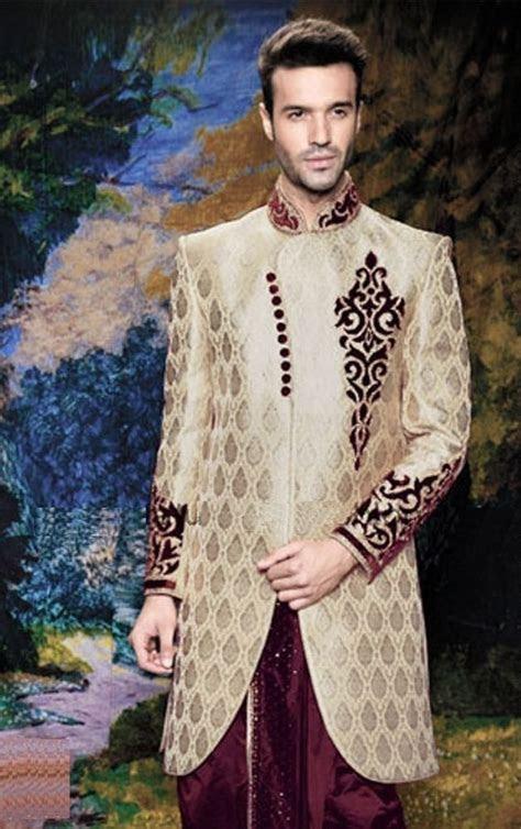 Men Fashion Designer Wedding Sports Groom Indowestern