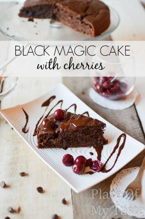 Black Magic Chocolate Cake by All She Cooks