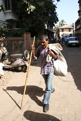 Gandhiji Left Behind His Stick.. And The Government uses it on the Common Man by firoze shakir photographerno1
