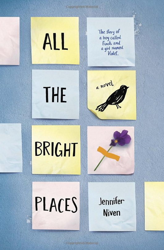 "YOUNG ADULT: ""All the Bright Places"" by Jennifer Niven"
