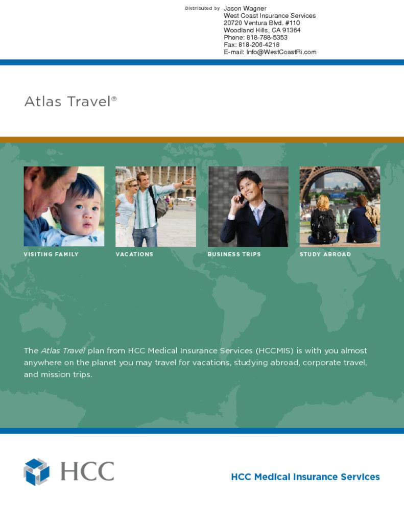 HCC - Atlas Travel Medical Insurance - Single Trip - West ...