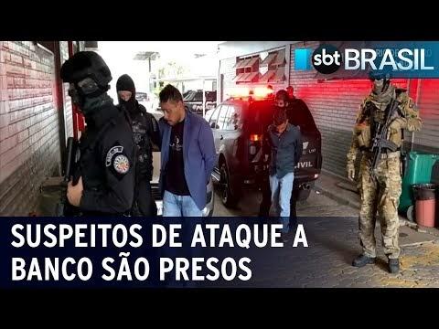 Polícia captura nove suspeitos de assalto a banco em Criciúma
