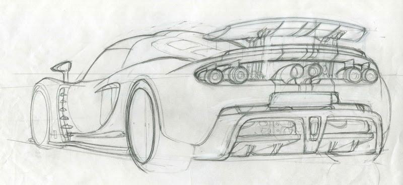 Hennessey Venom GT - back