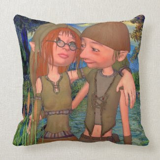 Must be Love! Throw Pillow