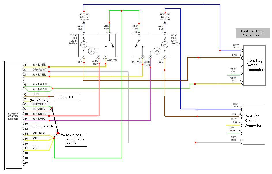 2004 Audi A4 Headlight Wiring Diagram