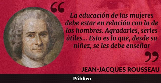 Rousseau, un avanzado a su época. Imaginad...