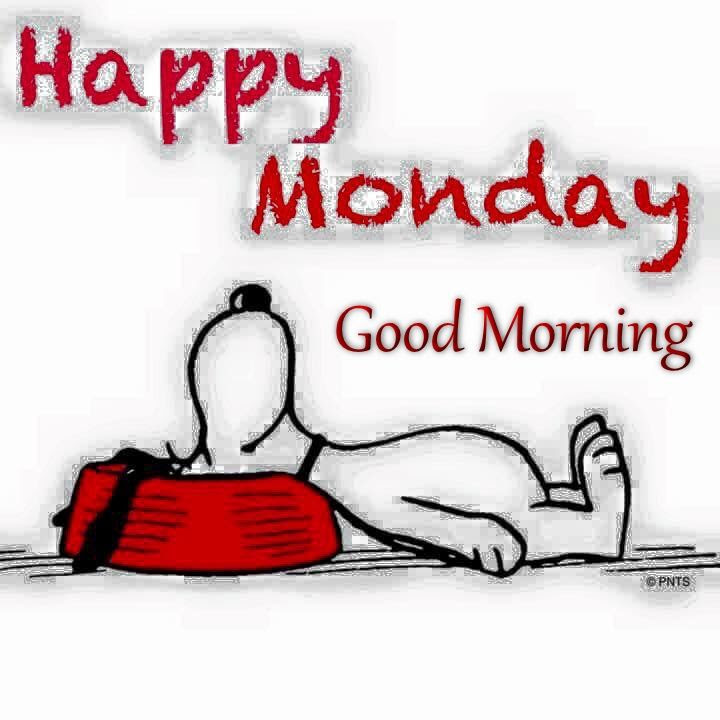 Happy Monday Good Morning Snoopy Quote Pictures Photos And Images