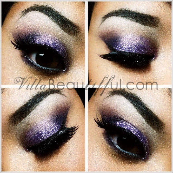 20 Fashionable Smoky Purple Eye Makeup Tutorials for All ...
