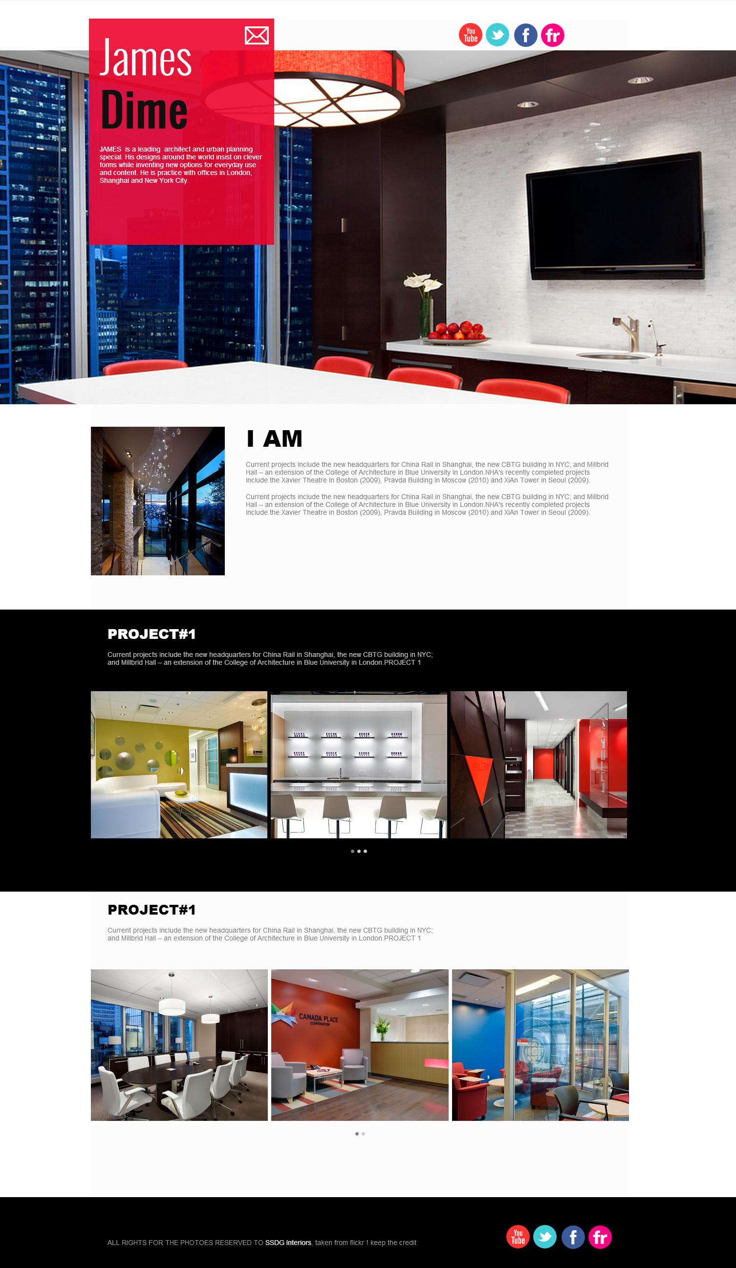 Interior design website #2 | Website-