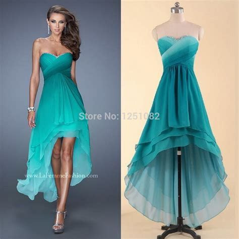 bridesmaid dresses teal short n the front long in he back