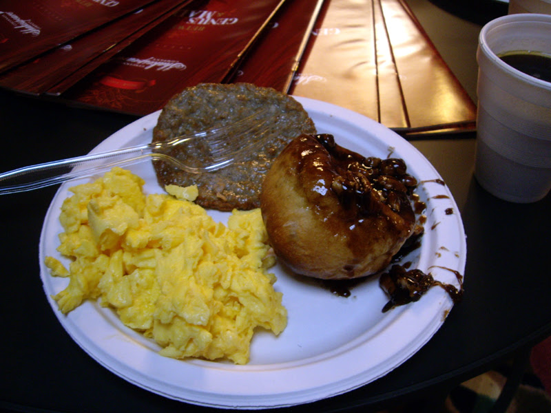 Towne properties resident breakfast