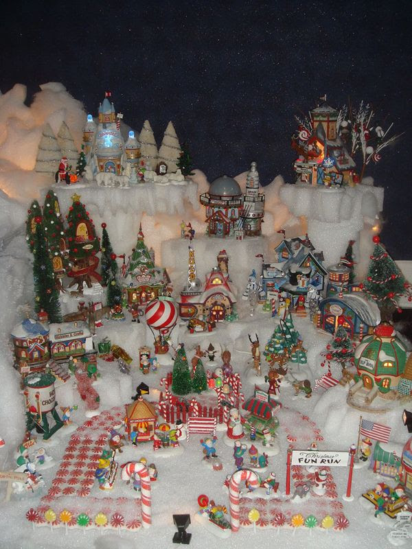 Home Design Image Ideas Christmas Village Display Ideas
