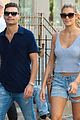 ryan seacrest shayna taylor couple up for nyc stroll 03
