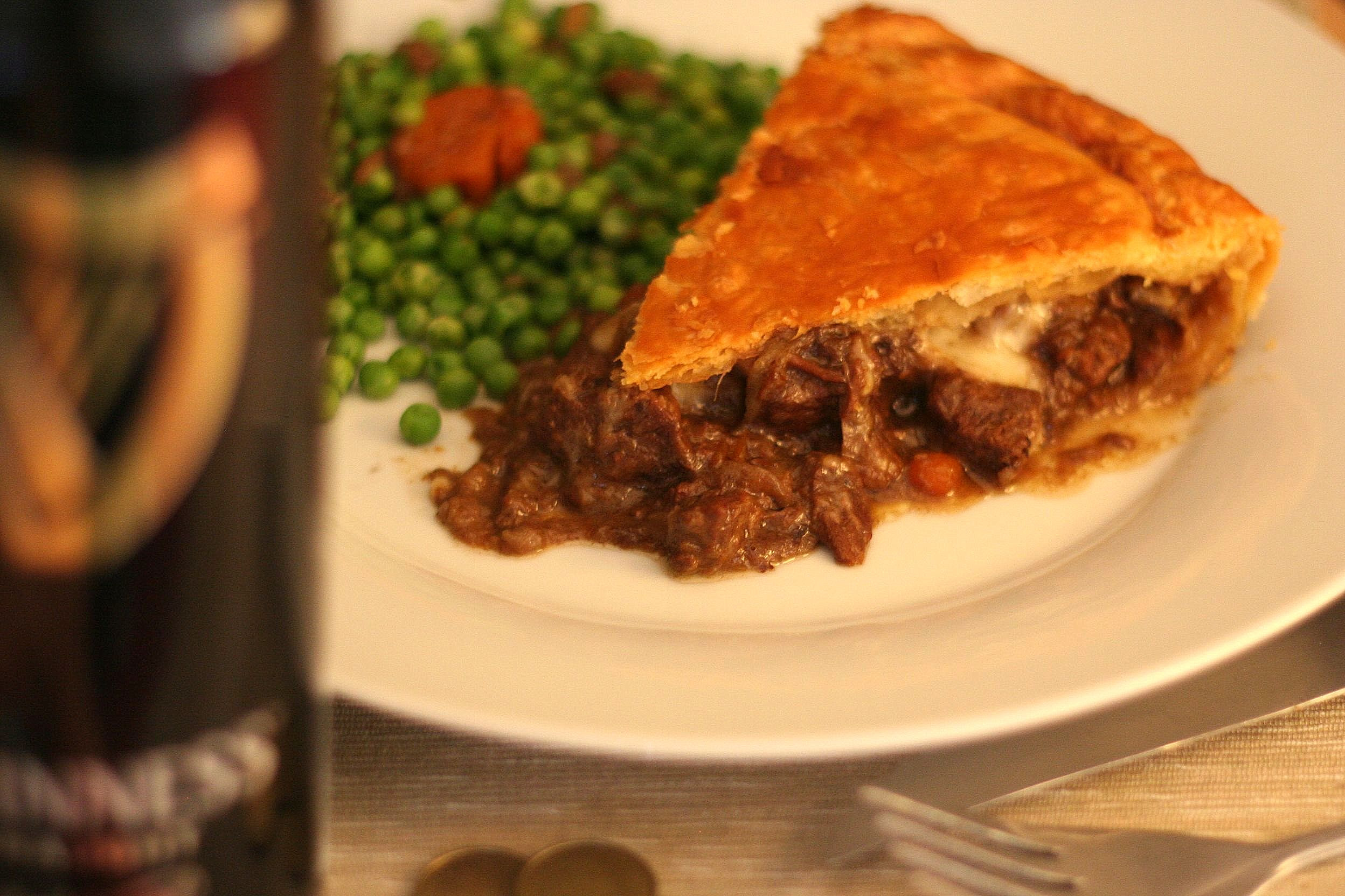 Steak, guinness and cheese pie de Jamie Oliver. | Cooking Mumu