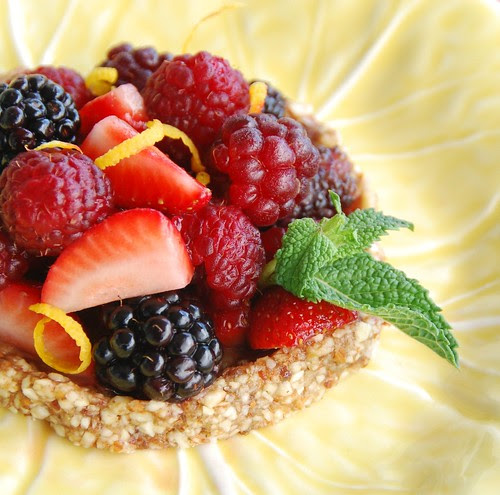 raw berry tartlet yellow