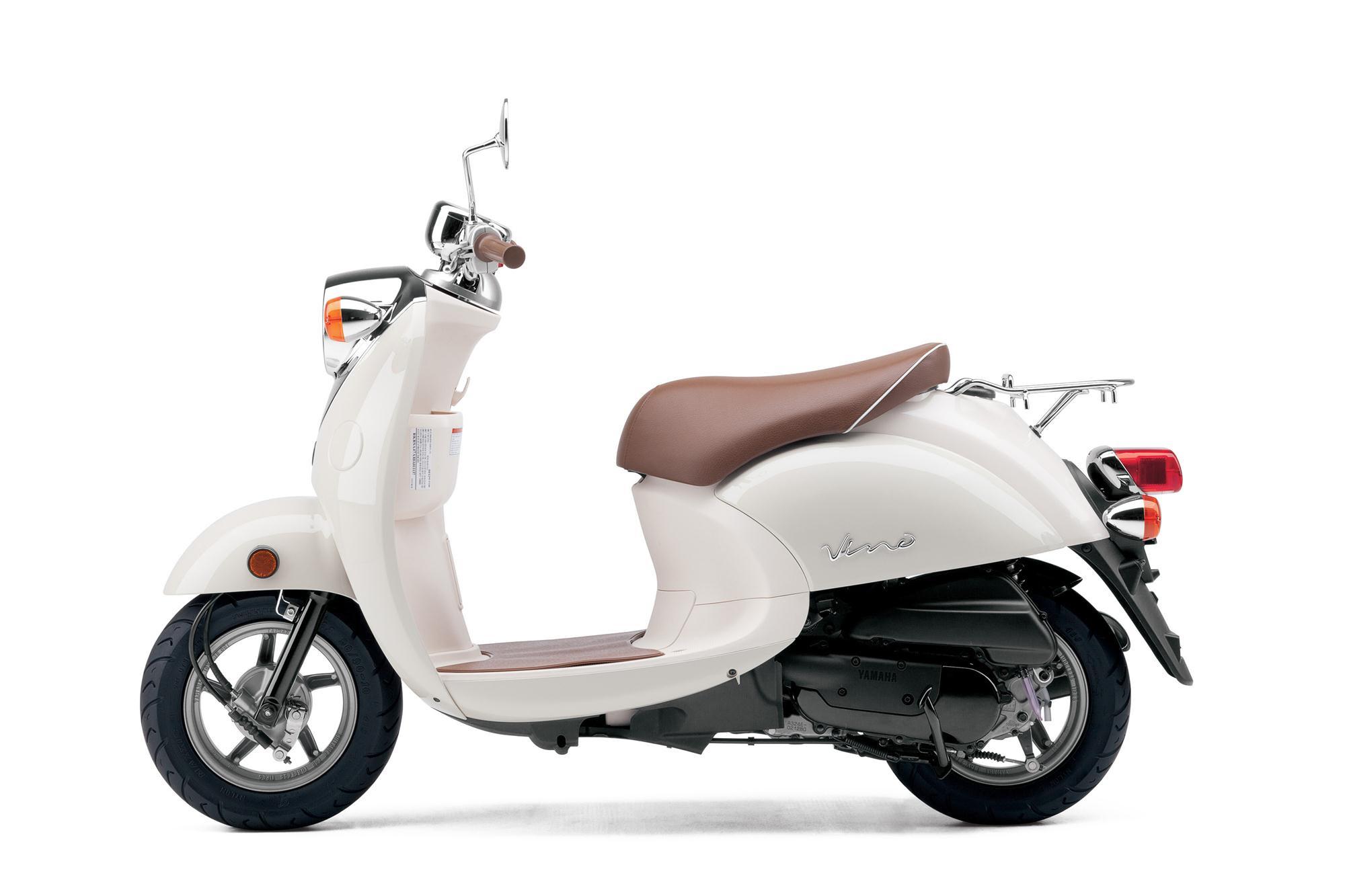 2013 Yamaha Vino Classic  Evokes Vespa Styling autoevolution
