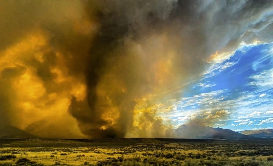 πρώτη προειδοποίηση ανεμοστρόβιλου για πυρκαγιά firenado california, Firenado: Η Εθνική Υπηρεσία Καιρού εκδίδει την πρώτη προειδοποίηση της Αμερικής για ανεμοστρόβιλο